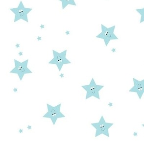 Happy Stars Blue.