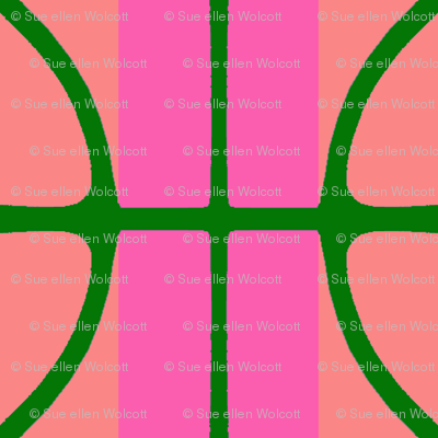 KB's B-Ball Stripes v2     -Pinks&Green