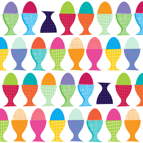 Egg Cup fabric by spellstone on Spoonflower - custom fabric