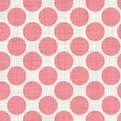 Distressed Dots in Pink