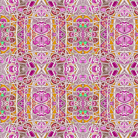 If Lady Guinevere Would Only Look This Way  fabric by edsel2084 on Spoonflower - custom fabric