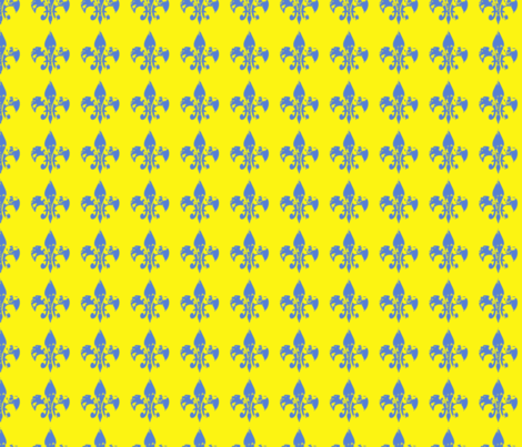 Pop Art fleur di lis fabric by karenharveycox on Spoonflower - custom fabric