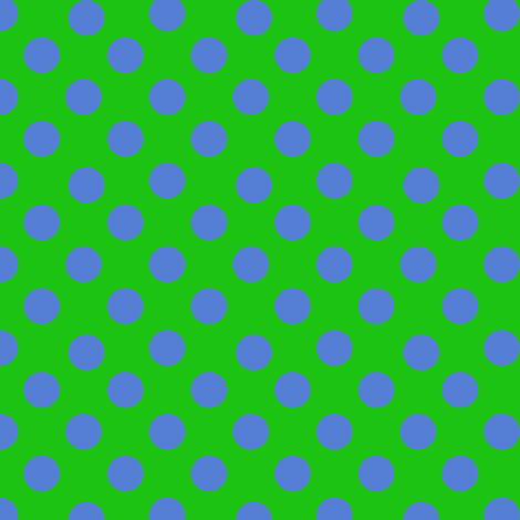 Pop Art Polka Dots fabric by karenharveycox on Spoonflower - custom fabric