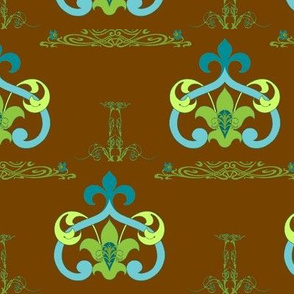 Art Nouveau46-brown