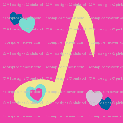 Musical Love Fest! - Rock & Royalty  - © PinkSodaPop 4ComputerHeaven.com