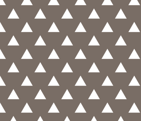 triangles clay fabric by alihenrie on Spoonflower - custom fabric