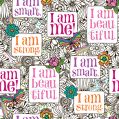 Strong Smart Beautiful ME small scale