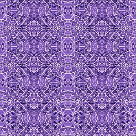 In a World of Purple fabric by edsel2084 on Spoonflower - custom fabric