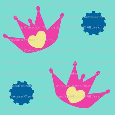 Pink Princess Of Rock! - Tropical Fabungalow! -   © PinkSodaPop 4ComputerHeaven.com