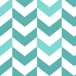 broken chevron blue