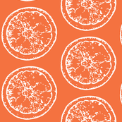 Simple Orange Slices Print