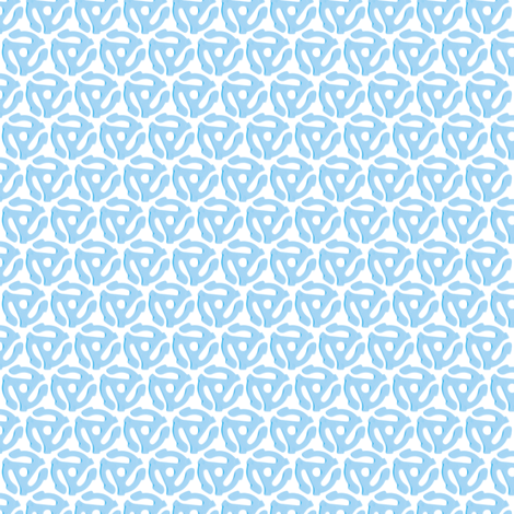 33 to 45 (Blue) fabric by pennycandy on Spoonflower - custom fabric