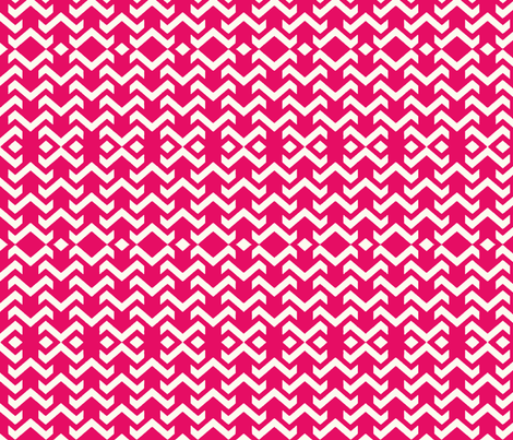 chevron hot pink fabric by vos_designs on Spoonflower - custom fabric