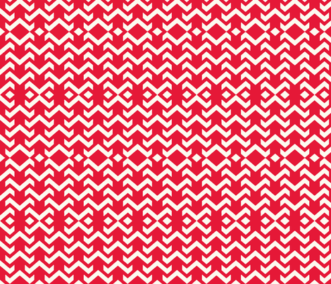 chevron red fabric by vos_designs on Spoonflower - custom fabric