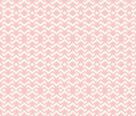 chevron baby pink fabric by vos_designs on Spoonflower - custom fabric
