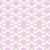 chevron baby lilac