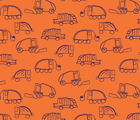 Larageorgine_garbage_trucks_orange_shop_preview