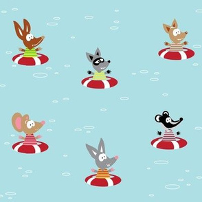 Furry Friends Afloat.