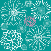 Floral Starburst