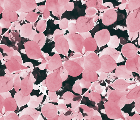 Sakura ~ Ink Wash fabric by peacoquettedesigns on Spoonflower - custom fabric