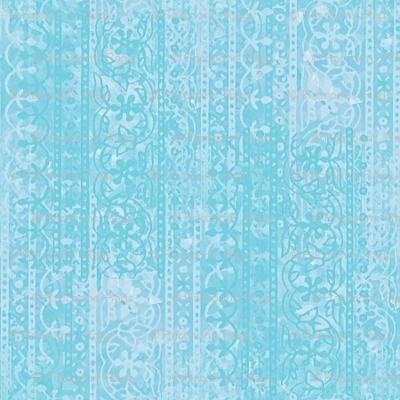 Block print (fresh aqua)