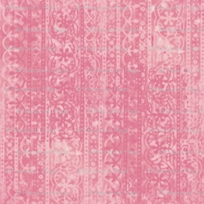 Block print (crushed strawberry)