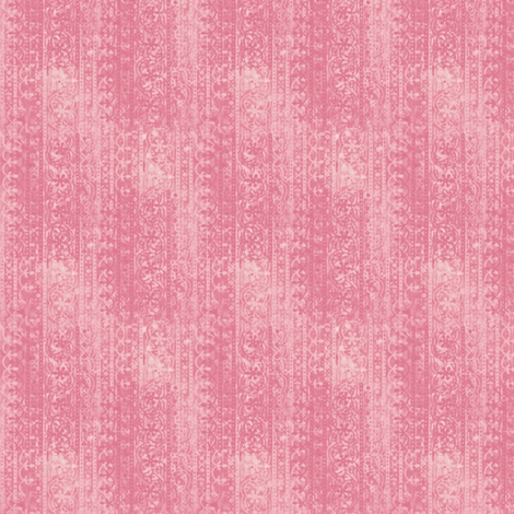 Block print (crushed strawberry) fabric by raccoons_rags on Spoonflower - custom fabric