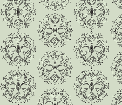 Hex fabric by ttpie on Spoonflower - custom fabric