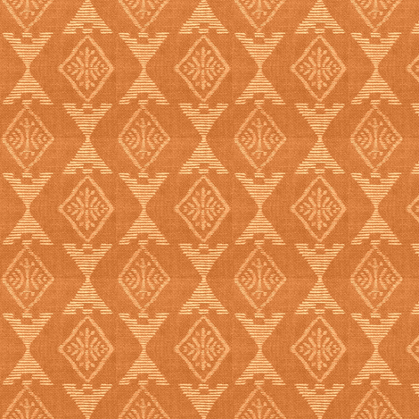 Native Sun - apricot fabric by materialsgirl on Spoonflower - custom fabric