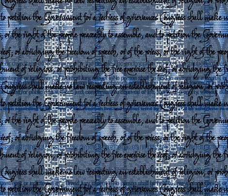 Bill of Rights fabric by antieuclid on Spoonflower - custom fabric