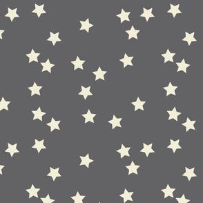 stars random gray and cream