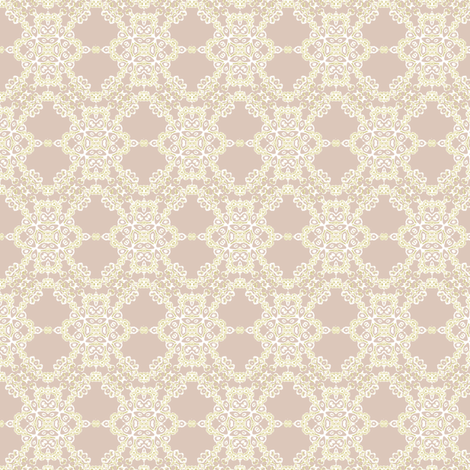 lace pink fabric by kerryn on Spoonflower - custom fabric