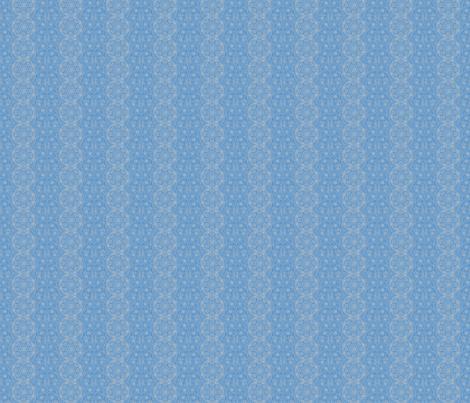 Blue Brocade fabric by amyvail on Spoonflower - custom fabric