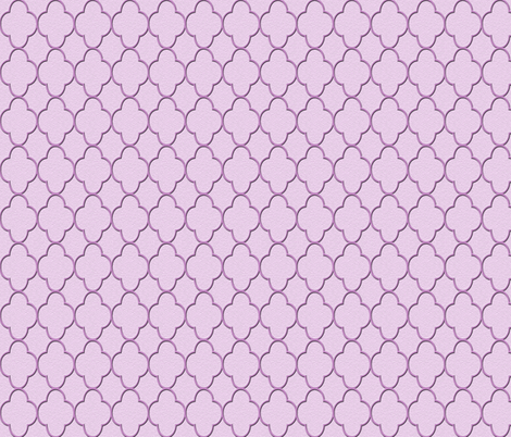 quatrefoil lavender fabric by krs_expressions on Spoonflower - custom fabric