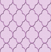 quatrefoil lavender