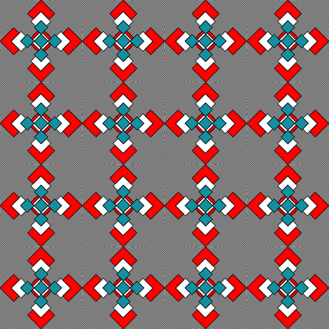 Geeky_coord fabric by mammajamma on Spoonflower - custom fabric