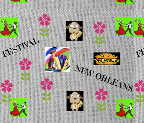 Festival fabric by nancy_martino on Spoonflower - custom fabric