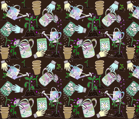 April Showers fabric by graceful on Spoonflower - custom fabric