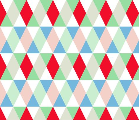 Geometrics fabric by curlywillowco on Spoonflower - custom fabric