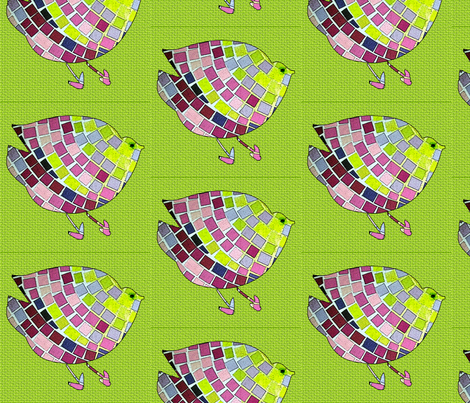 Baby Chick Parade fabric by cvoorhee on Spoonflower - custom fabric