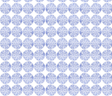 Snow Child fabric by petitesirene on Spoonflower - custom fabric