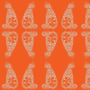 CatsMeow - Lg - bright orange reverse