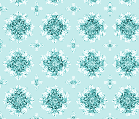 Floral Sea Crown fabric by petitesirene on Spoonflower - custom fabric