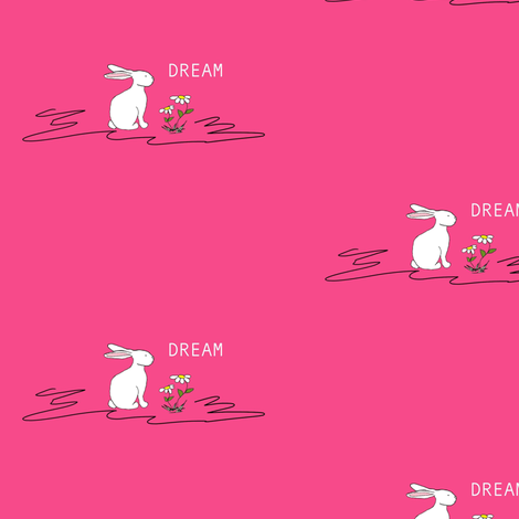 Rosemary Rabbit fabric by evelynrosedesigns on Spoonflower - custom fabric