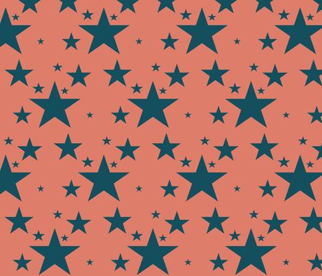 star fabric by chelsearabbit on Spoonflower - custom fabric