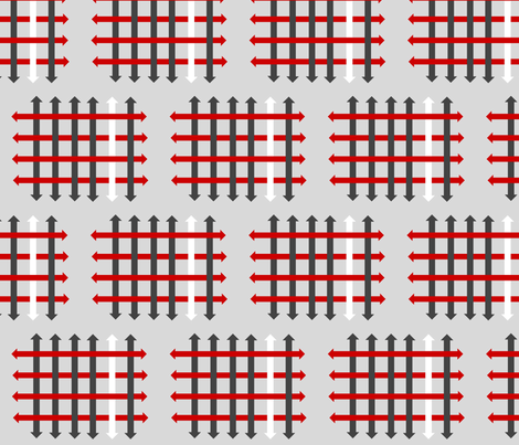 Arrow_basket fabric by chelsearabbit on Spoonflower - custom fabric