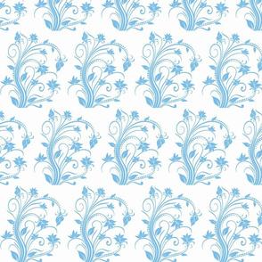 blue flwr
