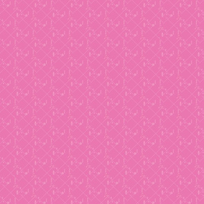 splash plaid half drop pink sml