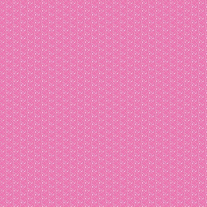 splash plaid half drop pink tiny