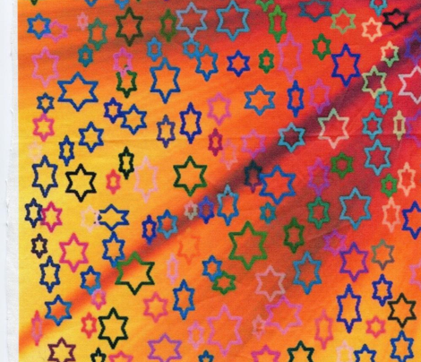 Jewish Constellations! Stars of David - Tutti Fruit - Framing/Poster